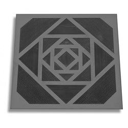К-3  Коврик резиновый с геометрическим рисунком (50*50*0,9 см.)