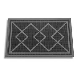 К-5  Коврик резиновый с геометрическим рисунком (35*55*0,8 см.)