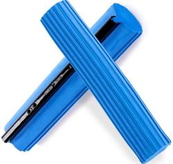 Губка для швабры, синяя твёрдая, 27см.