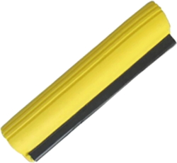 Запаска на швабру мягкая-силикон 34см (желтая)