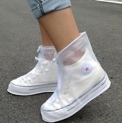 Чехлы для обуви Водонепроницаемые со шнурками и молнией, белый цвет