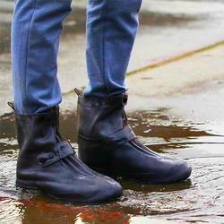 Защитные Чехлы для обуви на кнопке-застежке, коричневые
