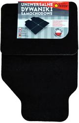 PL-0530 Набор ковриков для АВТО, ковролин, комплект 4шт. универсальные