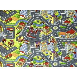 """PL-0653 Коврик для Детской комнаты, """"Улица"""" 150*100см."""