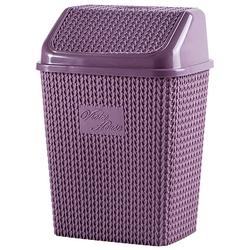 Ведро для мусора 10л. Виолетта. VIOLET HOUSE