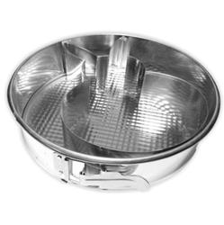 11560 Тортовница для выпечки круглая ЗАЯЦ 28см. металл. ТМ Pro-Drut