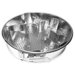 11584 Тортовница для выпечки круглая ЧЕЛОВЕЧЕК 28см. металл. ТМ Pro-Drut