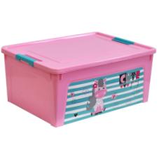 124046/3 Контейнер Smart Box декором Pet Shop 7,9л. (розов.-розов.-бирюз.)