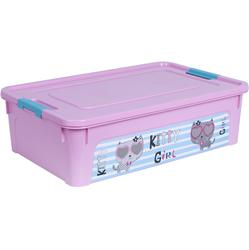 124047/3 Контейнер Smart Box декором Pet Shop 14л. (розов.-розов.-бирюз.)