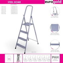 Стремянка металлическая Eurogold Steel home на 7 ступеней