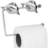 Держатель для туалетной бумаги на присоске (дельфины)