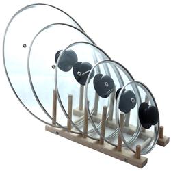 Крышка стекло с металл ободком, 12см-32см., ТМ ТаDAR