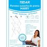 """PL-3645 Сушилка для белья напольная 3-х уровневая """"MARRY"""", 63*51*135cm TaDar"""