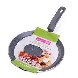 4206GR Сковорода блинная Ø24см из алюминия с гранитным покрытием (индукция)