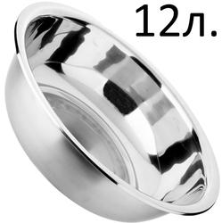 4304 Миска Ø42*12.5см из нержавеющей стали