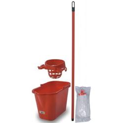 KON71301 Комплект для уборки ЕКОНЕКС (ведро с отжимом + швабра-моп)
