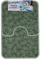 PL-7621 Набор ковриков для ванной и туалета, 2шт., 50*80см.