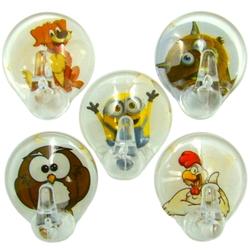 Крючки кристальные 5шт. на липучках, Zambak Plastic