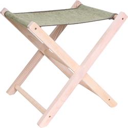 Стул складной деревянный, брезентовый