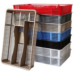 Лоток для столовых приборов сетка 32*21*6см.