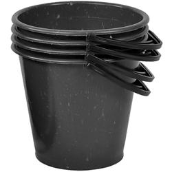 Ведро хозяйственное 2 сорт не пищевое 5-10л. Черное