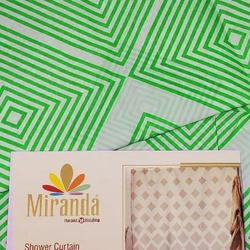 Штора Miranda IBIZA green 180*200см. полиэстер