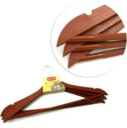 PF2601849/Br Набор вешалок PROFF Wooden Design 44х1 см, 3шт. коричневые