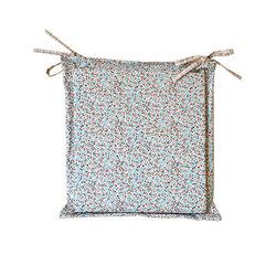Подушка для стула Прованс Цветы тифани 40х40см