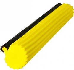 Губка для швабры SUPERMOP мягкая, желтая 28см.