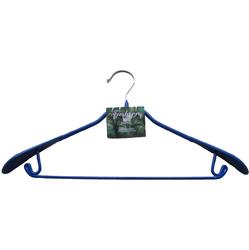 Вешалка Металлическая прорезиненая, с широкими плечиками и Крючками ТМ Fashion Paris