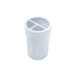 Стакан для зубных щеток MOON белый