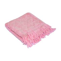 Полотенце бамбуковое Прованс, розовое 70х140см