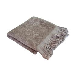 Полотенце бамбуковое Прованс, серое 70х140см